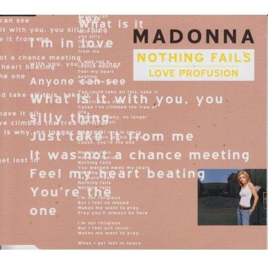 Coverafbeelding Nothing Fails/ Love Profusion - Madonna