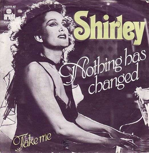 Coverafbeelding Nothing Has Changed - Shirley