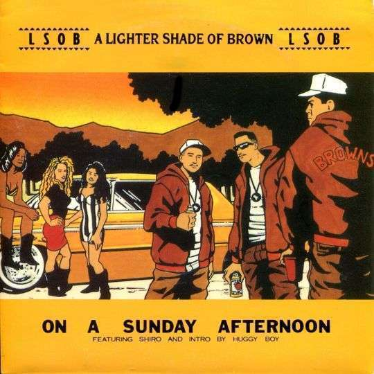 Coverafbeelding LSOB : A Lighter Shade Of Brown featuring Shiro and intro by Huggy Boy - On A Sunday