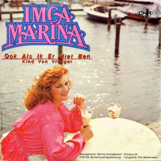 Coverafbeelding Ook Als Ik Er Niet Ben - Imca Marina