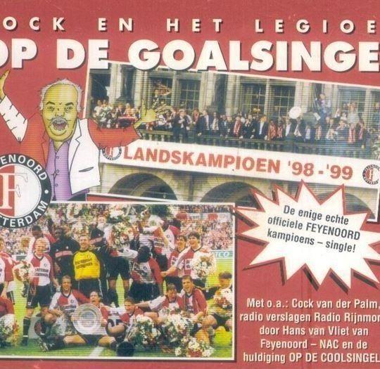 Coverafbeelding Op De Goalsingel - Cock En Het Legioen