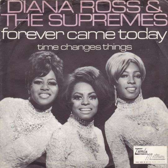 Coverafbeelding Diana Ross & The Supremes - Forever Came Today