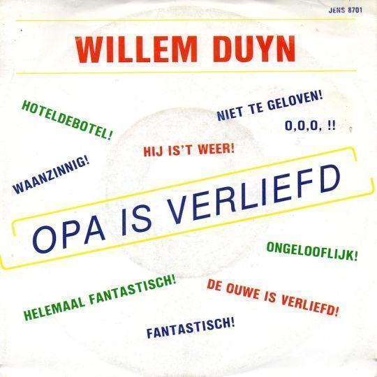 Coverafbeelding Opa Is Verliefd - Willem Duyn