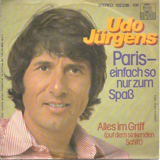 Coverafbeelding Udo Jürgens - Paris-Einfach So Nur Zum Spaß