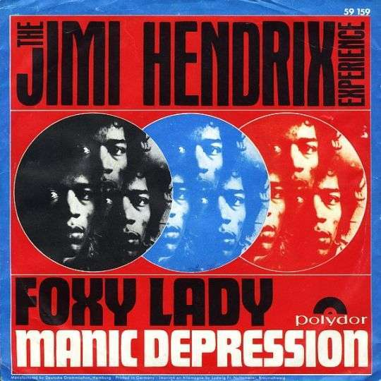 Coverafbeelding Foxy Lady - The Jimi Hendrix Experience