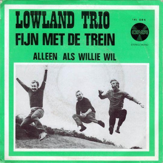 Coverafbeelding Fijn Met De Trein - Lowland Trio
