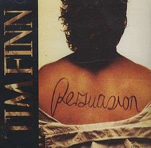 Coverafbeelding Persuasion - Tim Finn