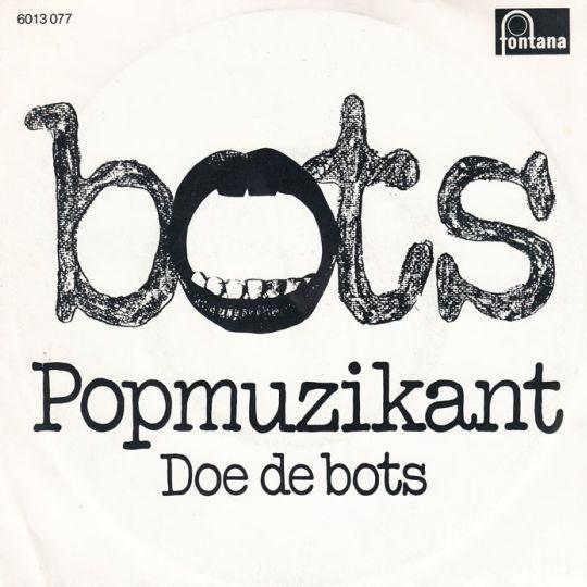 Coverafbeelding Bots - Popmuzikant