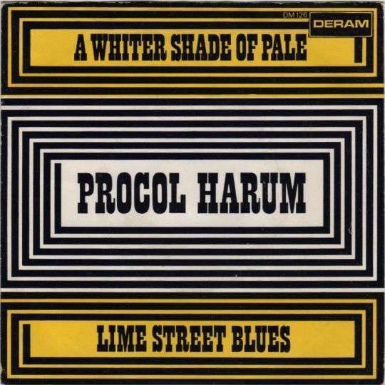 Coverafbeelding A Whiter Shade Of Pale ((1967)) / A Whiter Shade Of Pale [Maxi-single] ((1972)) - Procol Harum