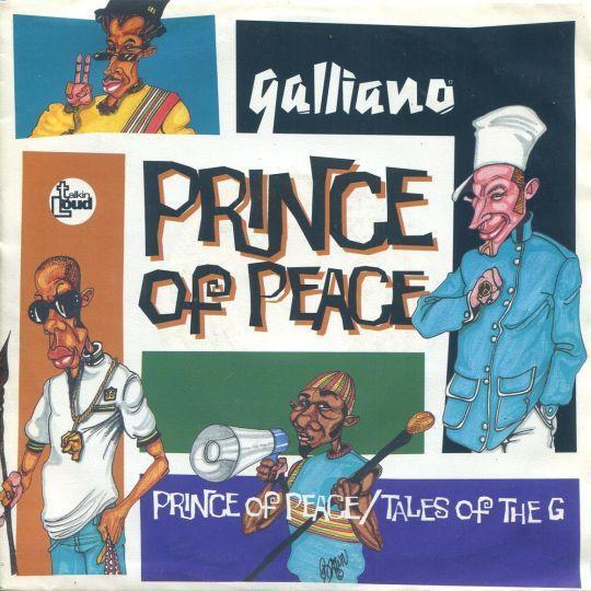 Coverafbeelding Galliano - Prince Of Peace