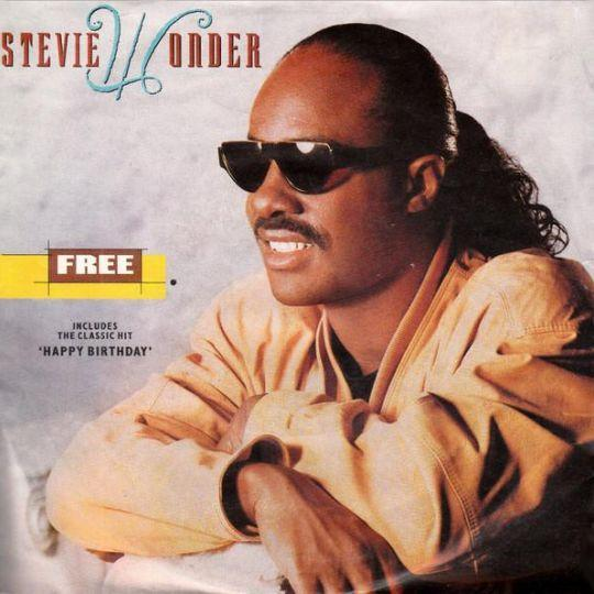 Coverafbeelding Free - Stevie Wonder