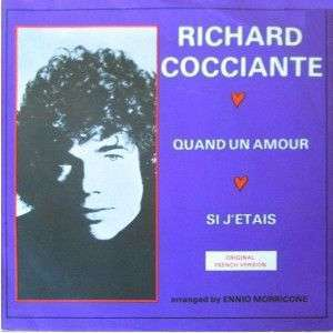 Coverafbeelding Richard Cocciante - Quand Un Amour
