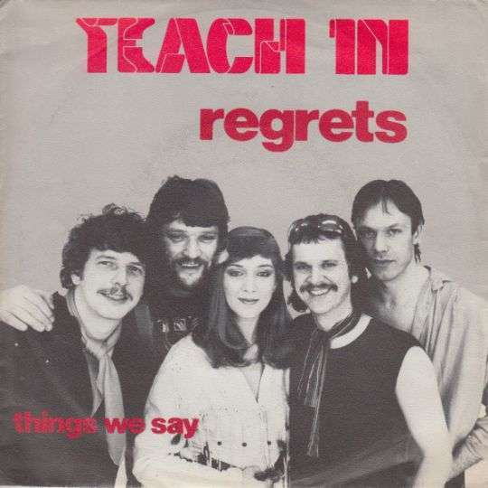 Coverafbeelding Regrets - Teach In