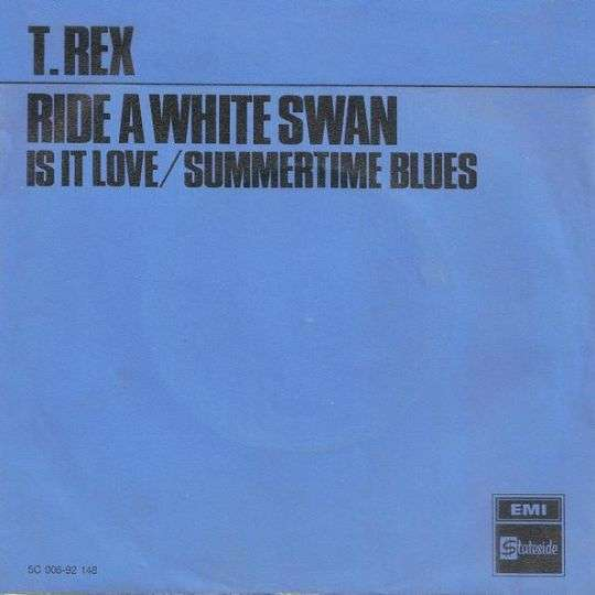 Coverafbeelding T.Rex - Ride A White Swan