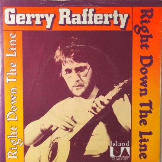 Coverafbeelding Right Down The Line - Gerry Rafferty