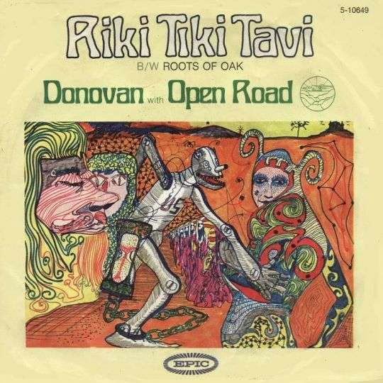 Coverafbeelding Riki Tiki Tavi - Donovan With Open Road