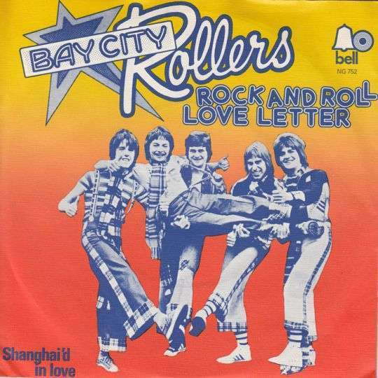 Coverafbeelding Rock And Roll Love Letter - Bay City Rollers