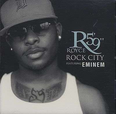 "Coverafbeelding Rock City - Royce Da 5'9"" Featuring Eminem"