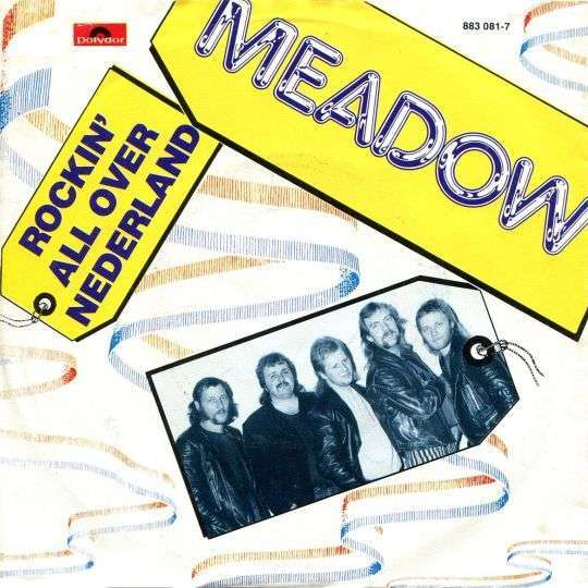 Coverafbeelding Meadow - Rockin' All Over Nederland