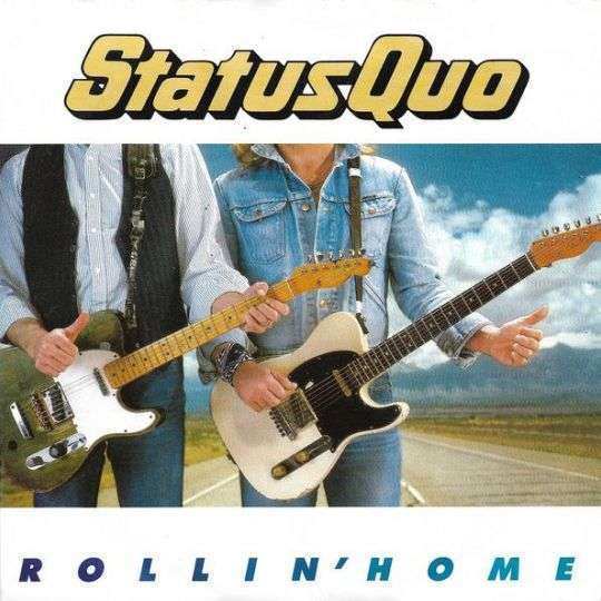 Coverafbeelding Status Quo - Rollin' Home