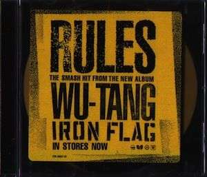 Coverafbeelding Rules - Wu-Tang Clan