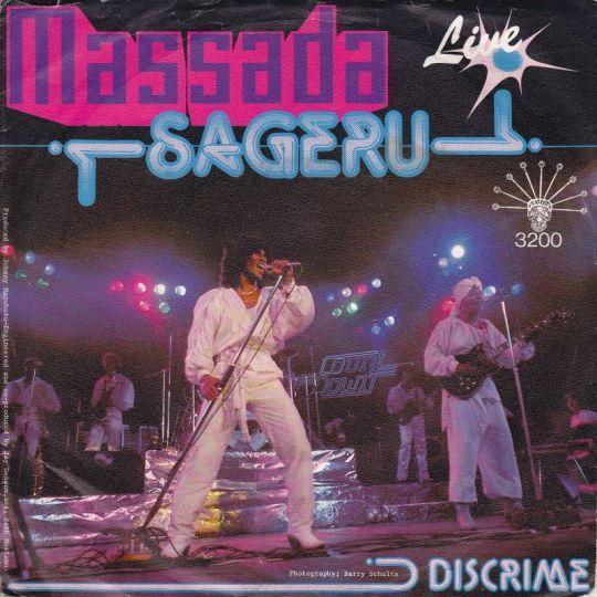 Coverafbeelding Sageru - Live - Massada