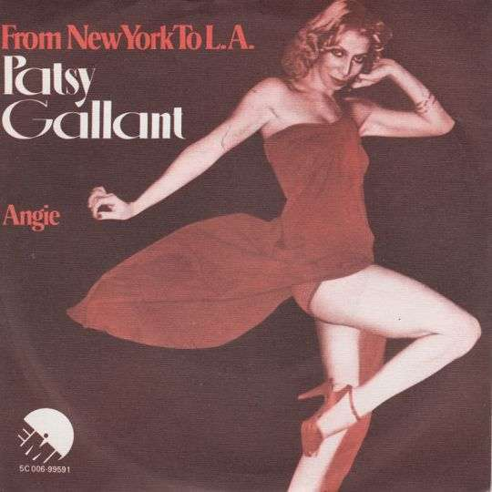 Coverafbeelding Patsy Gallant - From New York To L.A.