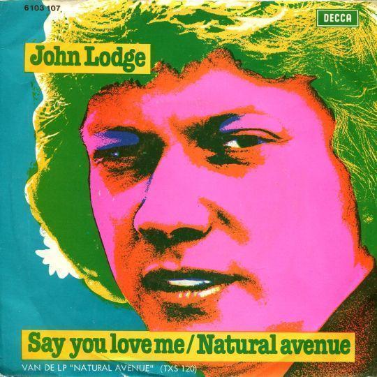 Coverafbeelding Say You Love Me - John Lodge