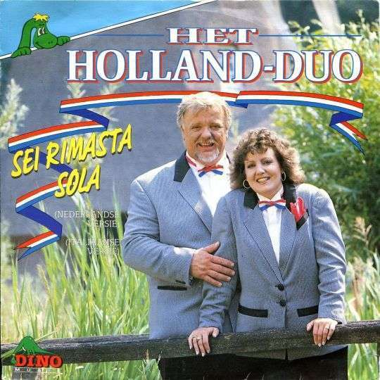 Coverafbeelding Sei Rimasta Sola - Het Holland-Duo