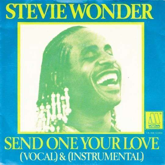 Coverafbeelding Stevie Wonder - Send One Your Love