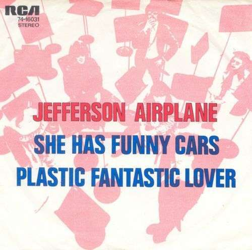 Coverafbeelding She Has Funny Cars - Jefferson Airplane