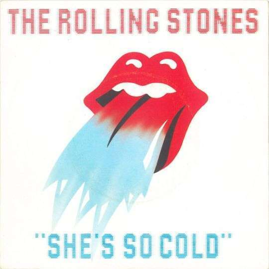 Coverafbeelding She's So Cold - The Rolling Stones
