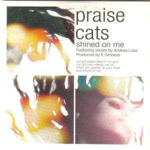 Coverafbeelding Praise Cats featuring vocals by Andrea Love - Shined On Me