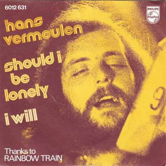 Coverafbeelding Should I Be Lonely - Hans Vermeulen