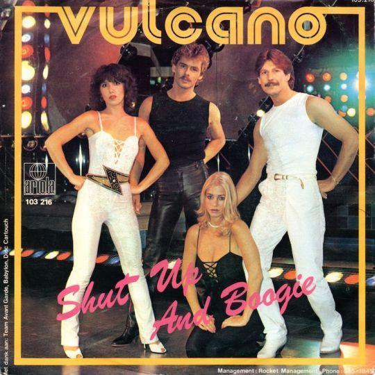 Coverafbeelding Shut Up And Boogie - Vulcano