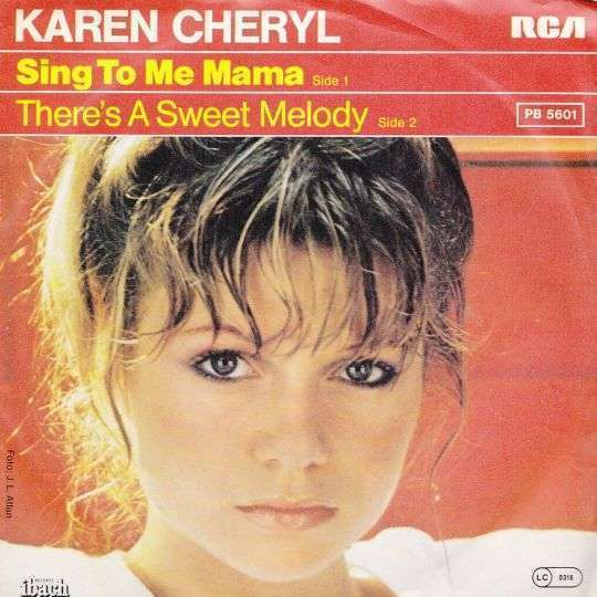 Coverafbeelding Karen Cheryl - Sing To Me Mama