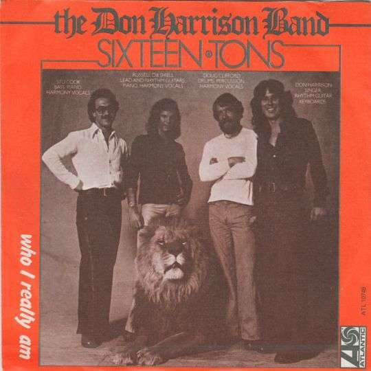 Coverafbeelding The Don Harrison Band - Sixteen Tons