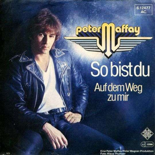 Coverafbeelding So Bist Du - Peter Maffay