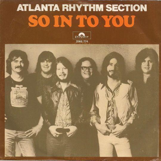 Coverafbeelding So In To You - Atlanta Rhythm Section