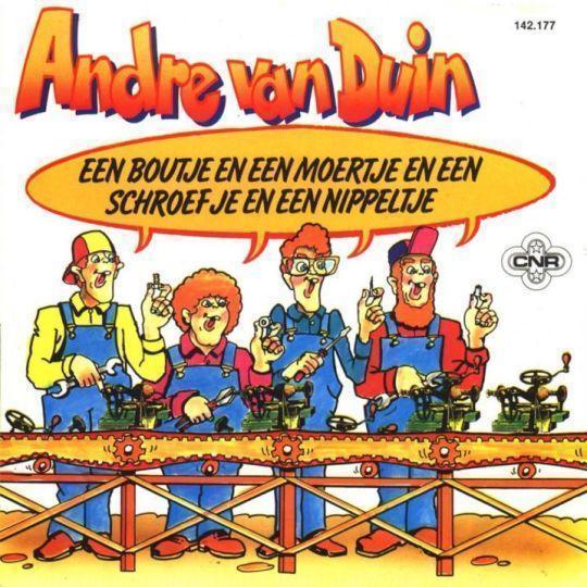 Coverafbeelding Andre Van Duin/ Simon Naaigaren - Een Boutje En Een Moertje En Een Schroefje En Een