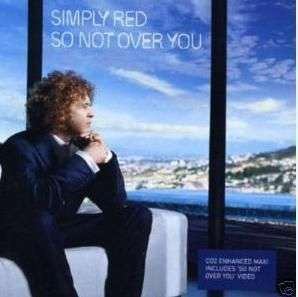 Coverafbeelding So Not Over You - Simply Red