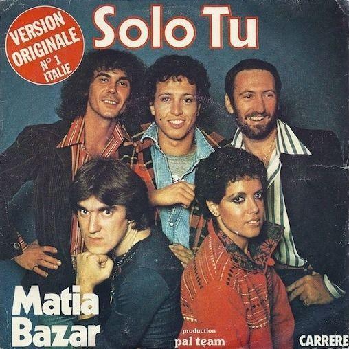 Coverafbeelding Matia Bazar - Solo Tu