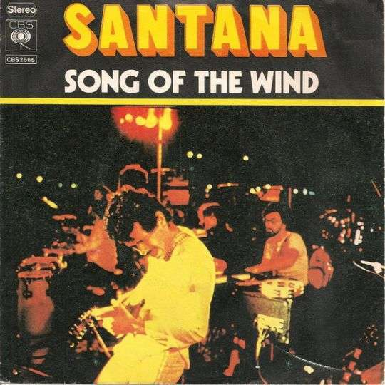 Coverafbeelding Song Of The Wind - Santana