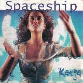 Coverafbeelding Spaceship - Katja