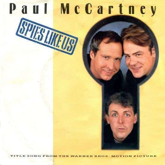 Coverafbeelding Spies Like Us - Paul Mccartney