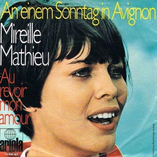 Coverafbeelding An Einem Sonntag In Avignon - Mireille Mathieu