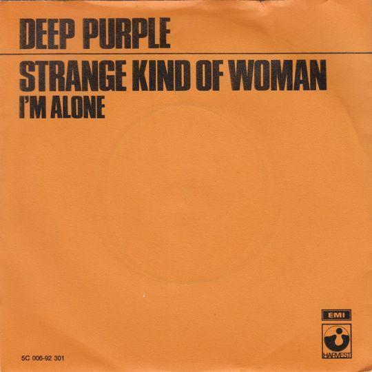 Coverafbeelding Deep Purple - Strange Kind Of Woman