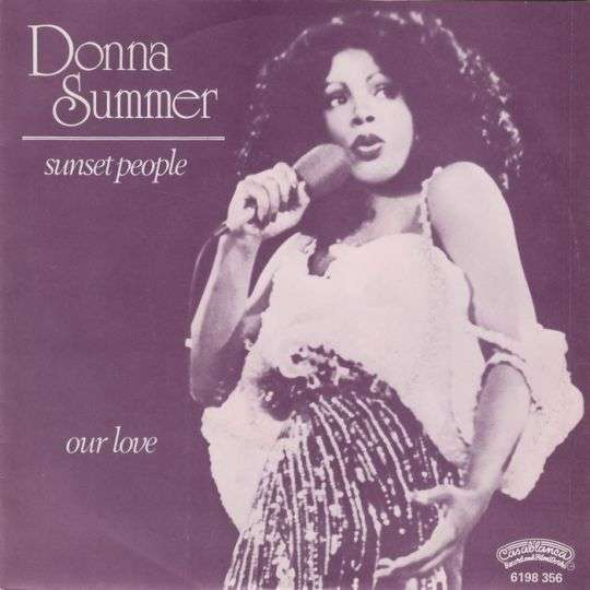 Coverafbeelding Donna Summer - Sunset People