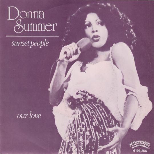 Coverafbeelding Sunset People - Donna Summer