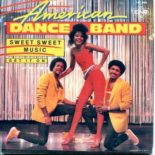 Coverafbeelding Sweet Sweet Music - American Dance Band